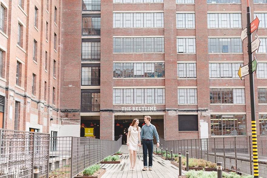 AUDREY + JAN ENGAGED! | The Willetts - Ponce City Market Engagements!
